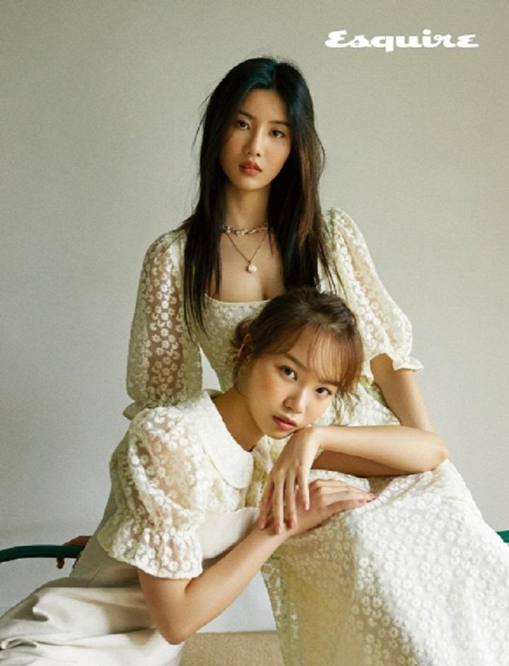아이즈원 박채원 권은비 ⓒ에스콰이어 제공